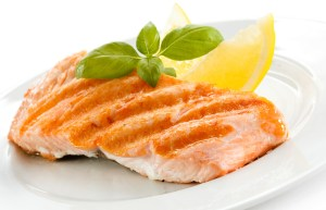 Salmon for running nutrition