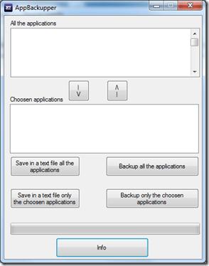 AppBackupper 1.0