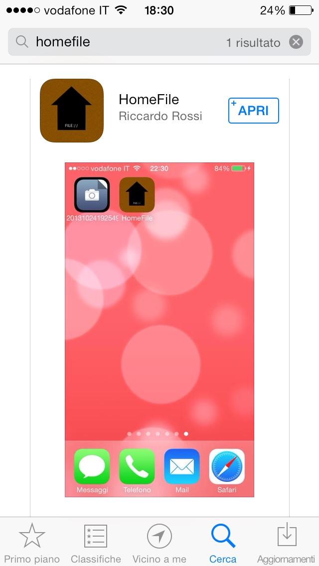 iOS Update: HomeFile 1.1