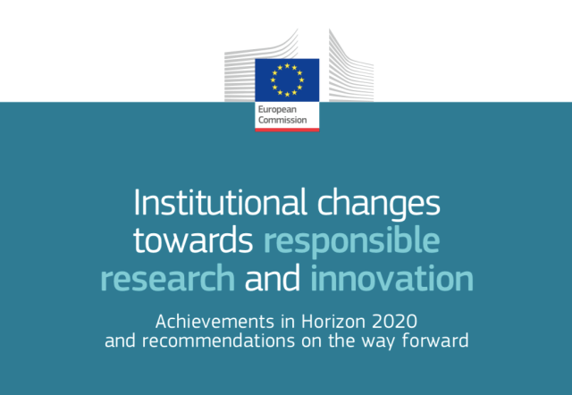 Institutional changes towards responsible research and innovation