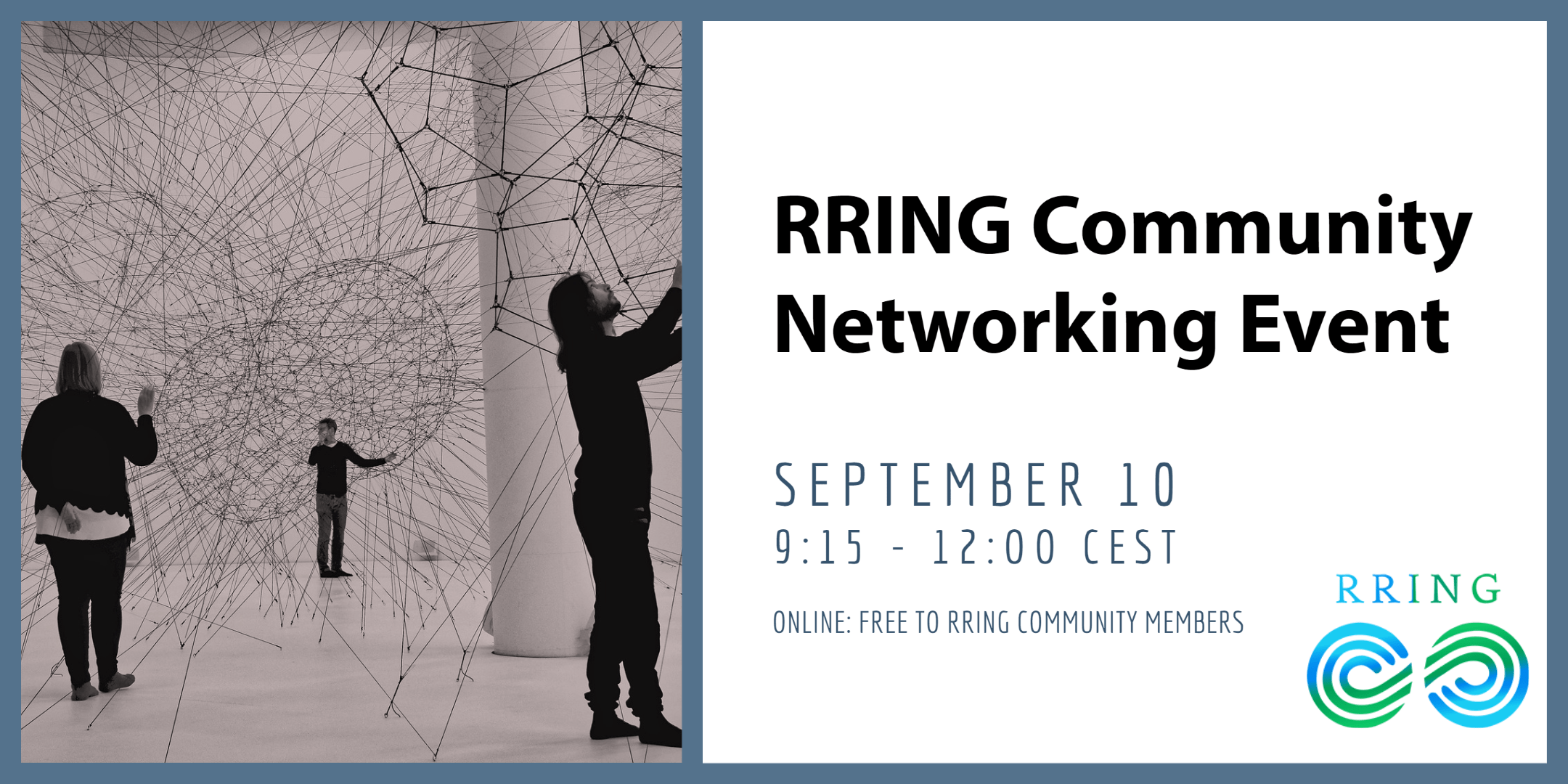 RRING to host first virtual networking event for Community members (September 10)