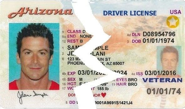 Arizona Suspended License
