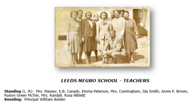leeds Negro Teachers