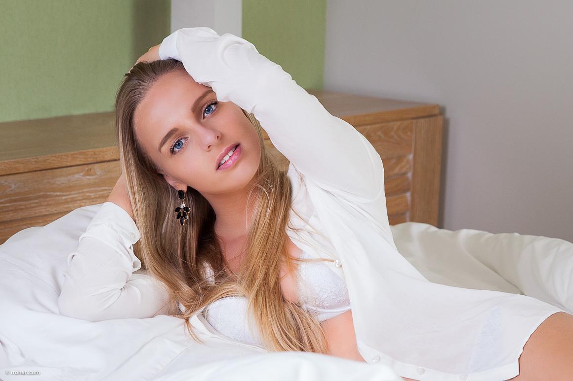 Charlotte en blanc
