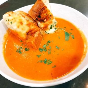 TODAY'S SOUP:  CREAMY TOMATO