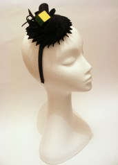 Problem Solved, 2013, Fur Felt and Rubic's Cube Fascinator