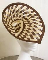 Woven Hempbraid Shell Headpiece, 2013