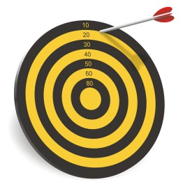 Off-the-mark bullseye