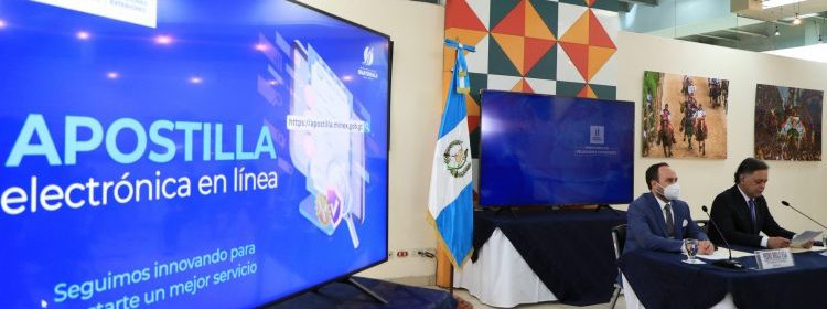 Guatemala, primer país centroamericano en realizar apostillado electrónico