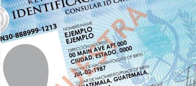 Guatemaltecos en Arizona podrán utilizar su tarjeta consular como identificación válida