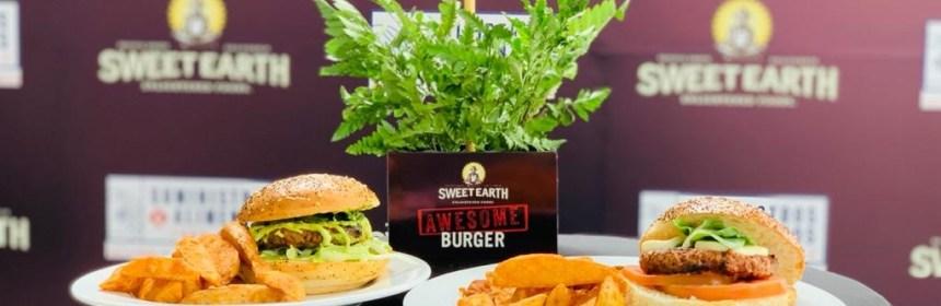 Llega a Guatemala Awesome Burger, la primera torta de hamburguesa con base vegetal