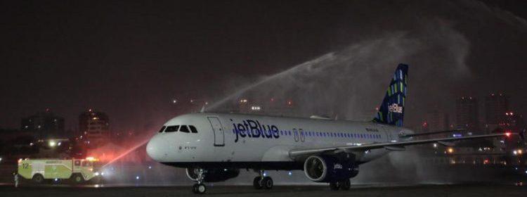 Aerolínea jetBlue inicia conexión con Guatemala