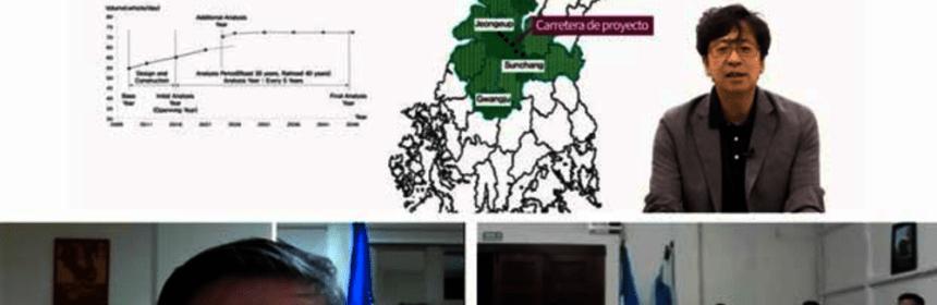 BCIE y Corea capacitan a guatemaltecos en temas ferroviarios