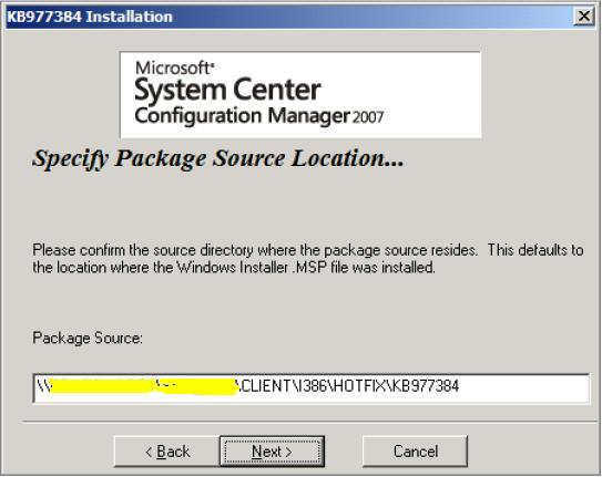 ConfigMgr R3 Installation & Configuration (5/6)