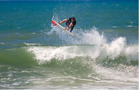 French surfer Tim Boal.