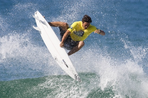 Jordy Smith is just one superstar taking part in the Elite Training Camp initiative which will roll-out across the state in 2009. Photo: Steve Robertson/Surfing Australia