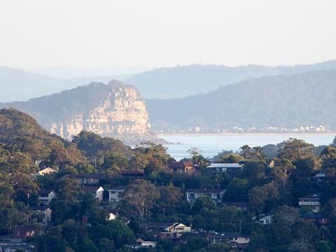 Lion Island view