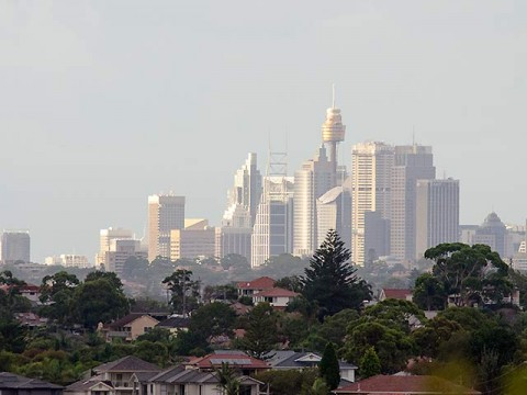 The old Sydney gleaming.