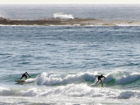 Lumpy bumpy with fun moments at north Curly @0845