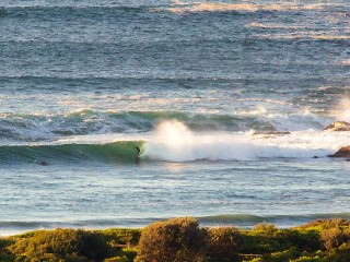 Perfect conditions at Dee Why point
