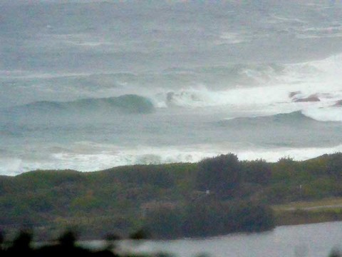 dee why point in ese swell