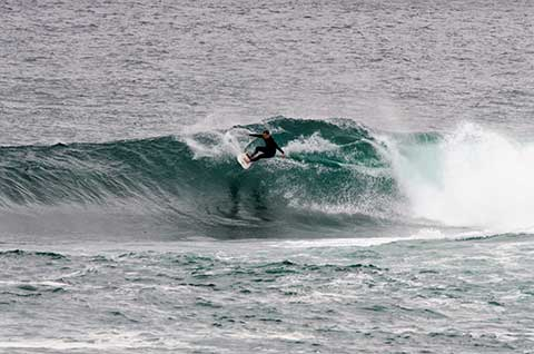 gallery of surfing pictures from Fairy Bower