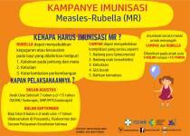 Kampanye Imunisasi Campak dan Rubella