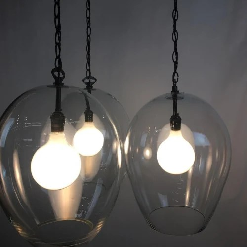 hand blown pendant lighting by cp