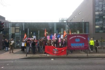 Successful schools' strike in Lewisham against plans for academy status