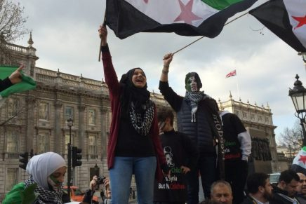 The Syrian Revolution struggles on