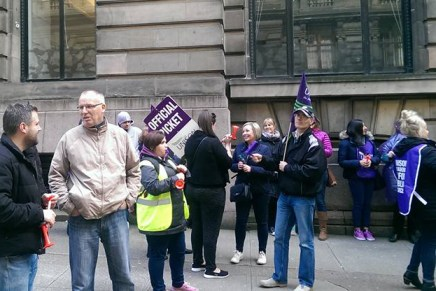 Glasgow Homeless Caseworkers strike: defending services against austerity and a Labour council