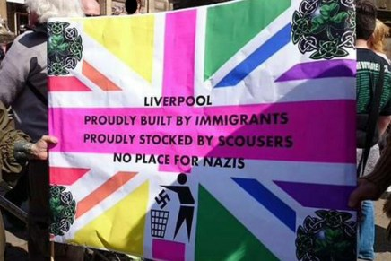 Nazis routed and humiliated in Liverpool as hundreds turn out to block their march
