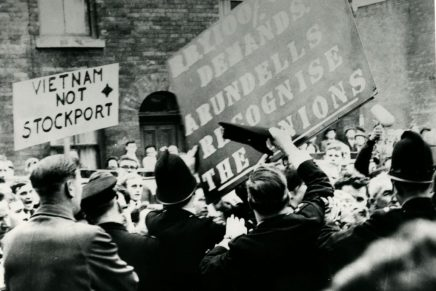 IS in the 60s: two thousand workers with bricks: the Roberts-Arundel strike