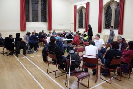 Fife residents meet to discuss solidarity with refugees and migrants