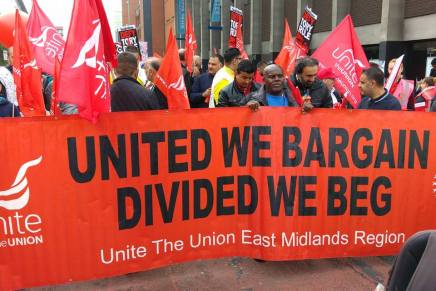 Unite shifts left over Trident, opposes war on Syria and launches its industrial strategy