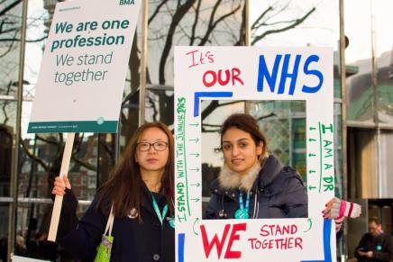 Junior Doctors Strike: round-up from picket lines