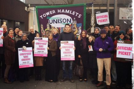 Unison and UCU strike together in FE over fair pay