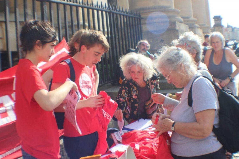 Oxford rally in support of Corbyn (Photo: John Walker)