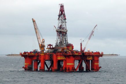 North Sea oil and gas strikes against background of offshore industry crisis