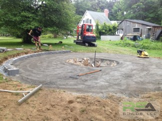 Landscaping--Custom Fire Pit