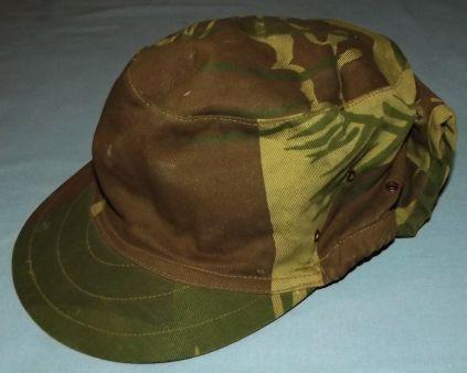 Rhodesia Bush War Army Camo Field Cap