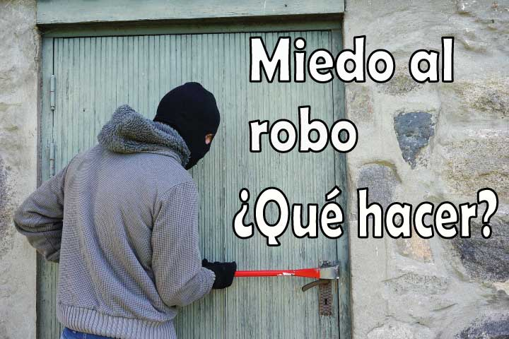 Miedo al robo