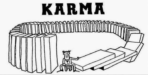 El karma es malo