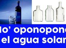Agua solar para tener buen sueño