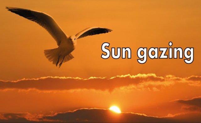 Mirar al sol
