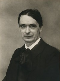 Rietman photograph of Rudolf Steiner, 1915.