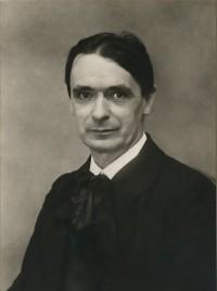 Rietman photograph of Rudolf Steiner, 1915.