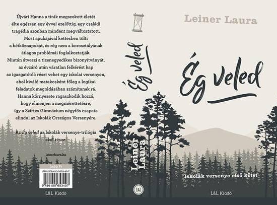 Leiner Laura – Ég veled címen hamarosan megjelenő regényének a fülszövege