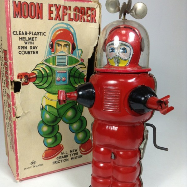 Japanese 1960 Moon Explore Robots Monsters Friction Space ...
