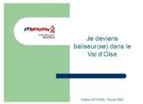 Quelques infos de la F. F. R. P. du Val d'Oise